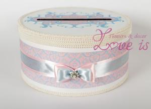 Свадебный коробок для денег сделать самой