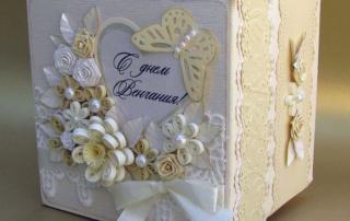 Свадебный короб для денег