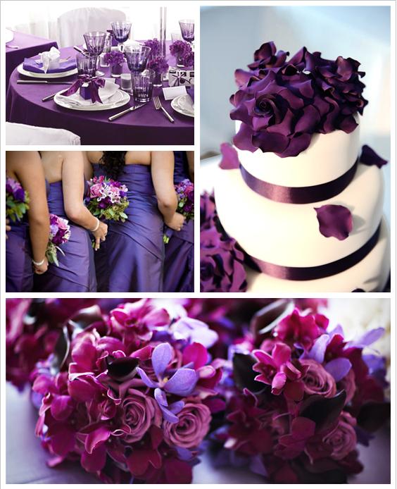 Свадьба фиолетового цвета оформление