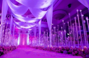 Свадьба сиреневого цвета оформление
