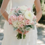 свадебный букет в стиле шебби шик