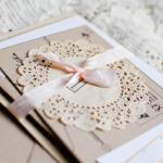 приглашения на свадьбу шебби шик
