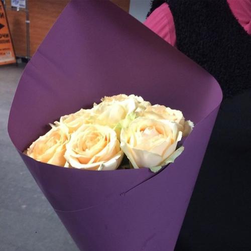 Розы у крафте