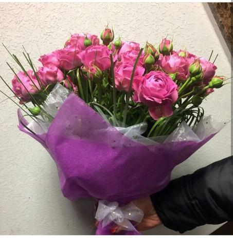 Пионовидная роза №40