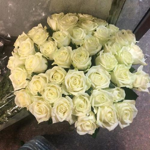 Большой букет прекрасных роз