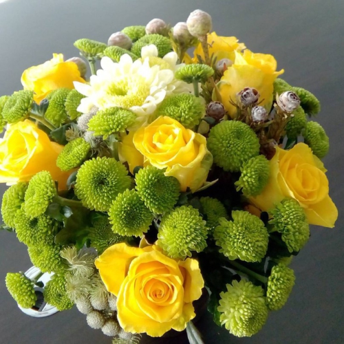 Букет цветов №1